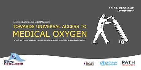 Follow the Thing: Towards Universal Access to Medical Oxygen tickets