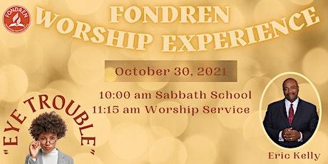 Fondren SDA Church Sabbath Services - October 30, 2021 tickets