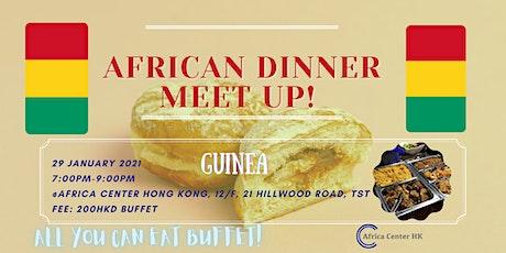 African Dinner Meetup (Guinea Cuisine) tickets
