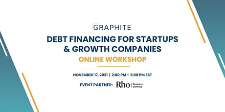 Debt Financing for Startups & Growth Companies tickets