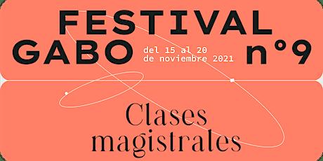 Festival Gabo Nº9: Cubrir elecciones desde lo audiovisual entradas