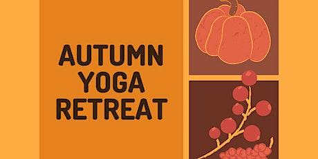 Autumn Yoga Retreat   Online   Beginners Welcome tickets