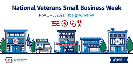 Veterans Small Business Week - Financing and Resources tickets