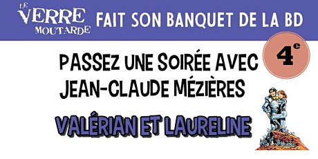 Banquet de la BD : Jean-Claude Mezieres billets