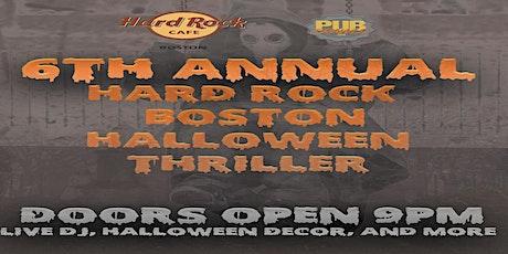 Boston Hard Rock Cafe Halloween Party tickets
