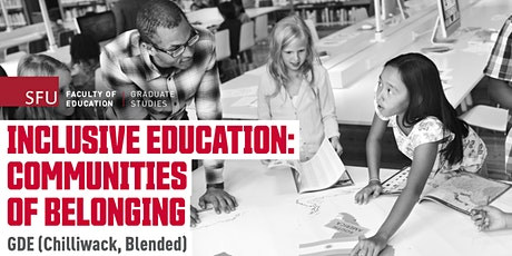 Inclusive Education: Communities of Belonging - Online Info Session tickets