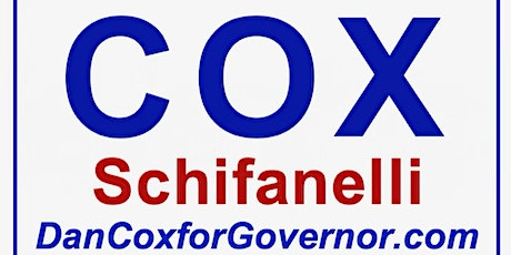 Meet and Greet Dan Cox for Governor tickets