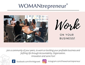 WOMANtrepreneur-OWN IT-Downtown Orlando Chatper (Prospective New Members) tickets