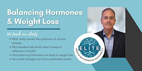 Balancing Hormones & Weight Loss tickets