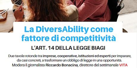 La DiversAbility come fattore di competitività biglietti