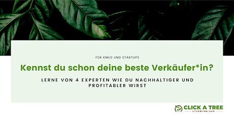 4 Experten 1 Ziel = Dein Unternehmen nachhaltiger UND profitabler zu machen Tickets