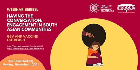 Having the Conversation: Engagement in South Asian Communities tickets