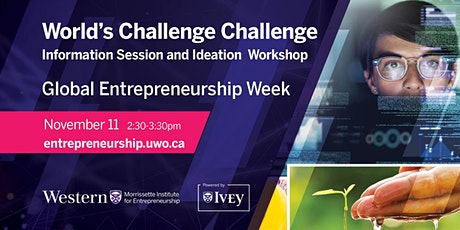 World's Challenge Challenge (Information Session and Ideation Workshop) tickets