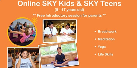 SKY Kids & SKY Teens  - Introductory Session (for parents) tickets
