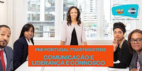 PMI Portugal Toastmasters | Comunicação e liderança ingressos