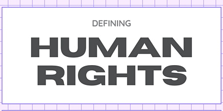 Social Stride: Human Rights 101, 102 & 103 tickets