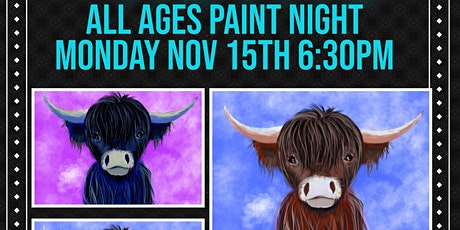 All Ages Paint Night NOV 15th @ RETRO tickets