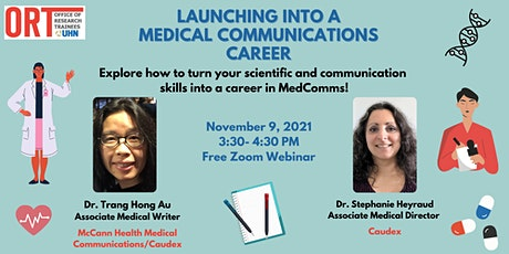 Launching into a Medical Communications Career! tickets