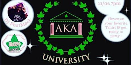 Delta Delta Omega presents an AKA University Virtual Homecoming tickets