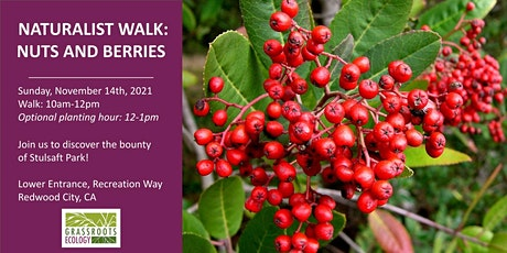 Naturalist Walk: Nuts and Berries at Stulsaft Park tickets