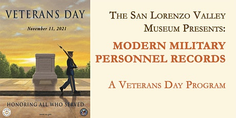 Modern Military Personnel Records - A Veterans Day Program tickets