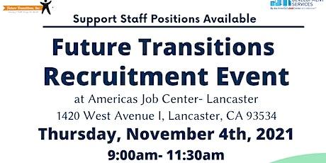 Future Transitions Recruitment tickets