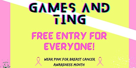 Games And Ting tickets