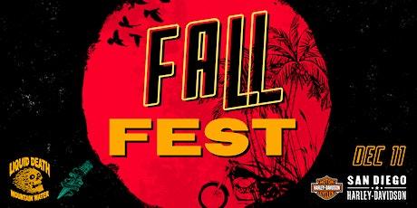 San Diego Harley-Davidson Fall Fest tickets