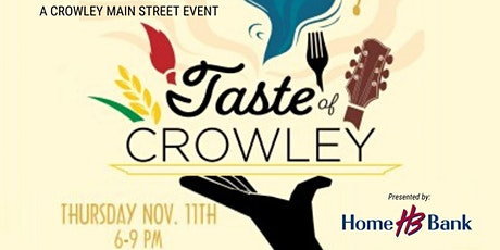2021 Taste of Crowley tickets
