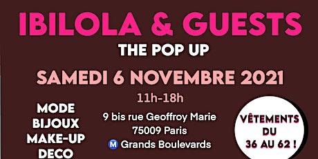 Pop up d'Ibilola & Guests billets