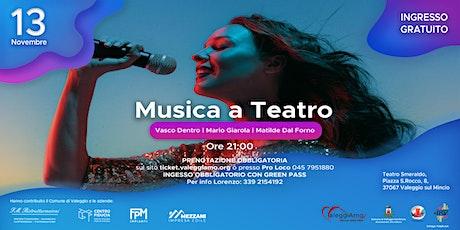 Musica a teatro biglietti