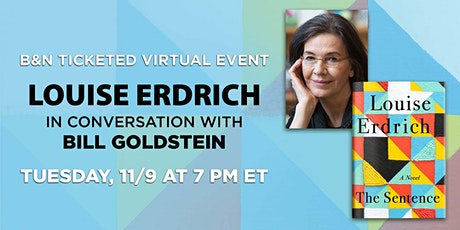 B&N Virtually Presents: Louise Erdrich  to discuss THE SENTENCE tickets