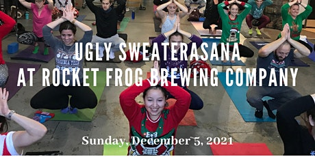 Ugly Sweaterasana at Rocket Frog Brewing tickets
