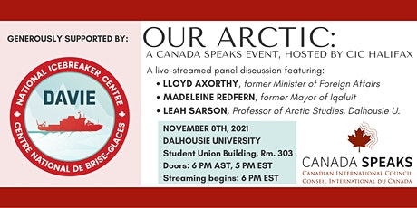 Canada Speaks: Our Arctic tickets
