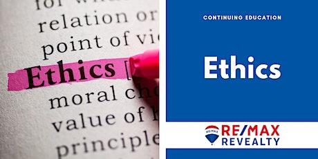 CE: Ethics tickets