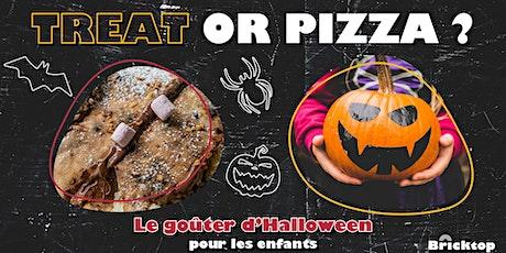 Treat or Pizza  - Le goûter d'Halloween pour les enfants billets