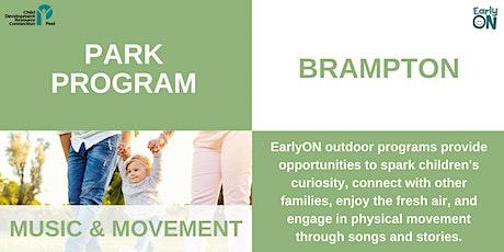 PARK PROGRAM: Worthington Park- Music and Movement (birth-6 years) tickets