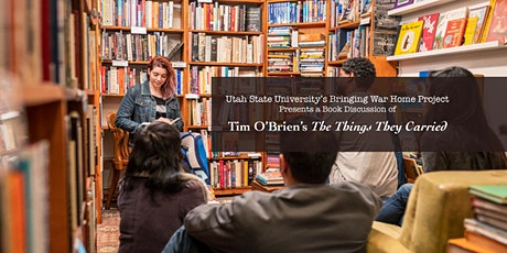 Online Book Discussion The Things They Carried by Tim O'Brien tickets