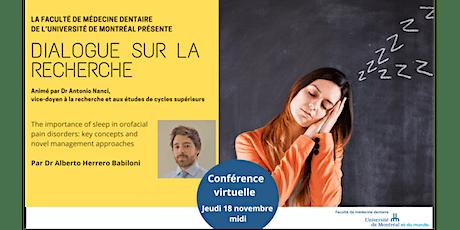 Dialogue sur la recherche - Novembre 2021 Tickets