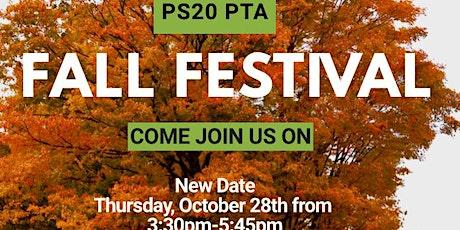 PS 20 PTA Fall Festival tickets