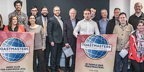 IE Temple Bar Toastmasters Club Meeting. All welcome! tickets