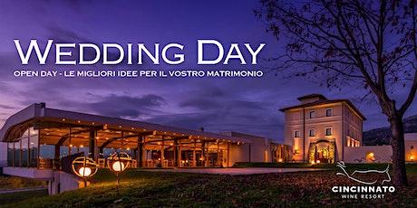 Wedding Day - Open day: Le migliori idee per il vostro matrimonio biglietti