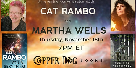 Cat Rambo in Conversation with Martha Wells tickets