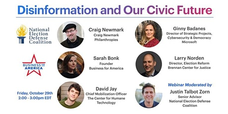Disinformation and Our Civic Future tickets