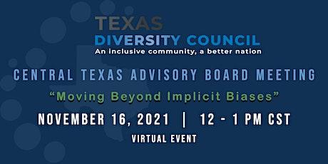 November Central Texas Advisory Board Meeting tickets