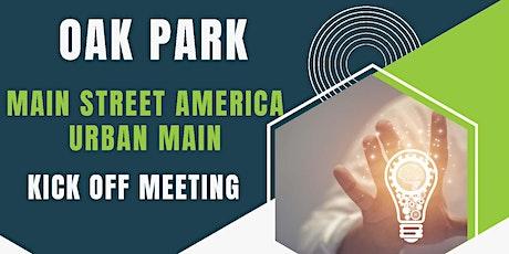 Urban Main Street Kick Off Meeting tickets