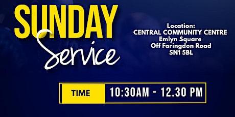 Sunday Worship Service @ Central Community Centre, Swindon tickets