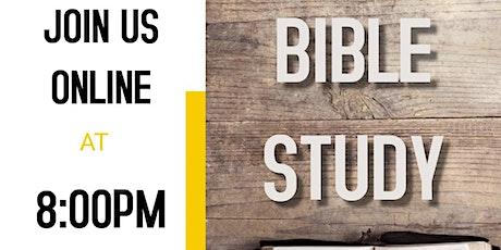 ONLINE Bible Study tickets