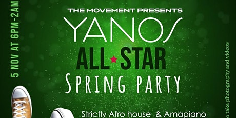 """Yanos """"All Star"""" Spring Party tickets"""