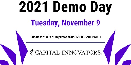 Capital Innovators Spring & Fall 2021 Demo Day tickets